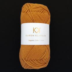 8/4 Dark Mustard - KK Organic Color Cotton økologisk bomuldsgarn fra Karen Klarbæk
