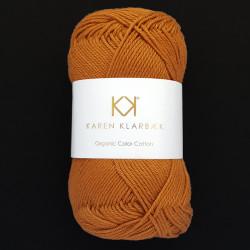 8/4 Dark Spicy - KK Organic Color Cotton økologisk bomuldsgarn fra Karen Klarbæk