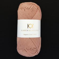 8/4 Tobacco - KK Color Cotton økologisk bomuldsgarn fra Karen Klarbæk