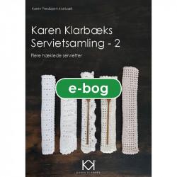 """""""Karen Klarbæks Servietsamling - 2"""" - eBog"""