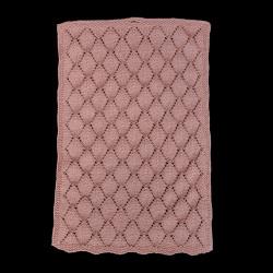 Gæstehåndklæde med bladmønster - e-opskrift