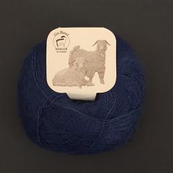 Dyb blå - Mohairgarn fra Mohair by Canard