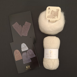 HVID: Fine Pure Organic Wool + Mohair by Canard + to opskrifter