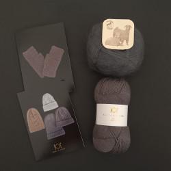 KOKS: Fine Pure Organic Wool + Mohair by Canard + to opskrifter