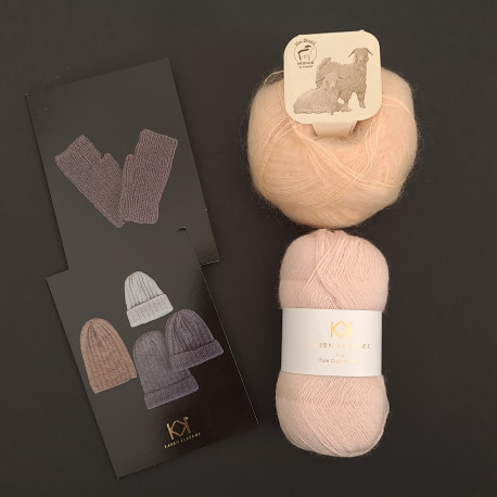 LYS ROSE: Fine Pure Organic Wool + Mohair by Canard + to opskrifter