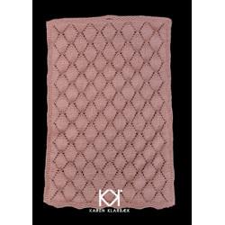 Gæstehåndklæde med bladmønster - Trykt opskrift