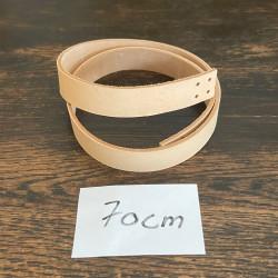 Læderstrop til taske/net - 70x2 cm cm - 1 stk.