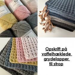 Opskrift på Vaffelgrydelapper til strop fra Karen Klarbæk