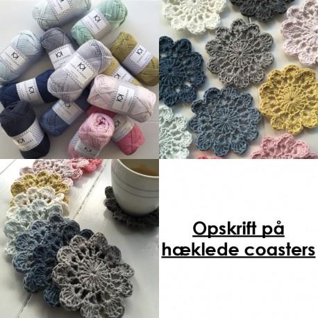 Hæklede coasters