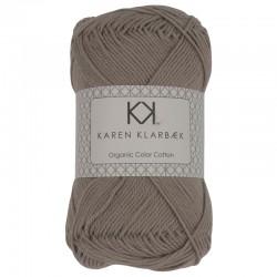 8/4 Light Grey (Lys gråbrun) - KK Color Cotton økologisk bomuldsgarn fra Karen Klarbæk