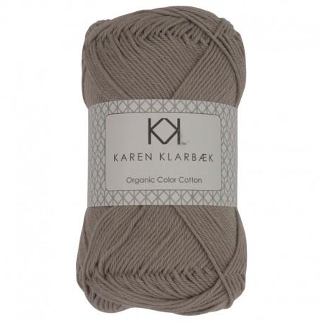 Lys gråbrun - KK Organic Color Cotton økologisk bomuldsgarn fra Karen Klarbæk