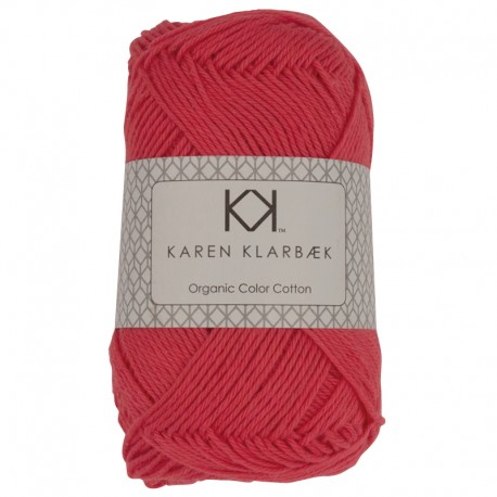 8/4 Dark Peach - KK Organic Color Cotton økologisk bomuldsgarn fra Karen Klarbæk
