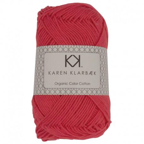Mørk fersken - KK Color Cotton økologisk bomuldsgarn fra Karen Klarbæk