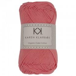8/4 Peach - KK Organic Color Cotton økologisk bomuldsgarn fra Karen Klarbæk