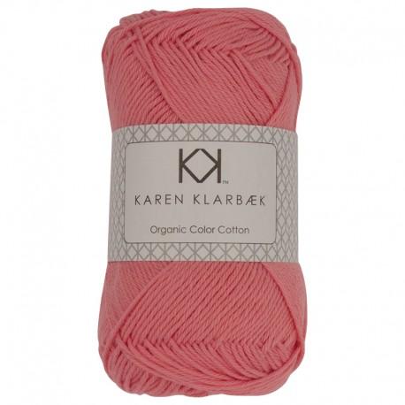 Fersken - KK Color Cotton økologisk bomuldsgarn fra Karen Klarbæk