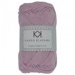 8/4 Light Lilac - KK Organic Color Cotton økologisk bomuldsgarn fra Karen Klarbæk