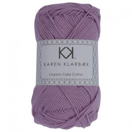 Lilac - KK Organic Color Cotton økologisk bomuldsgarn fra Karen Klarbæk
