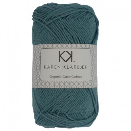 8/4 Medium Petrol Blue - KK Organic Color Cotton økologisk bomuldsgarn fra Karen Klarbæk