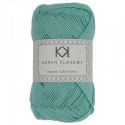 8/4 Turquoise - KK Organic Color Cotton økologisk bomuldsgarn fra Karen Klarbæk