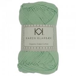 8/4 Mint Green - KK Organic Color Cotton økologisk bomuldsgarn fra Karen Klarbæk