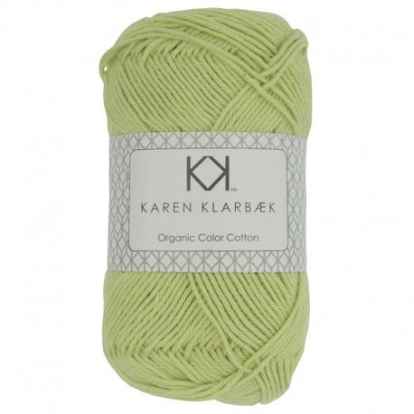 8/4 Light Green - KK Organic Color Cotton økologisk bomuldsgarn fra Karen Klarbæk