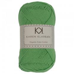 8/4 Lime grøn - KK Color Cotton økologisk bomuldsgarn fra Karen Klarbæk