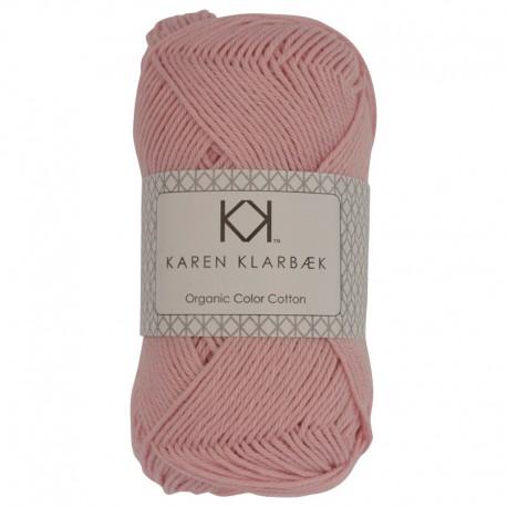 Lys rosa - KK Color Cotton økologisk bomuldsgarn fra Karen Klarbæk