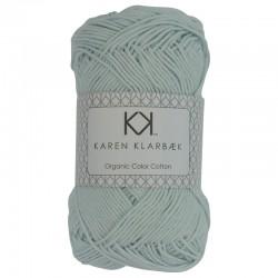 8/4 Lys mint - KK Color Cotton økologisk bomuldsgarn fra Karen Klarbæk