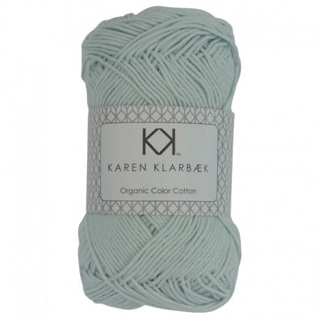 8/4 Light Mint - KK Organic Color Cotton økologisk bomuldsgarn fra Karen Klarbæk