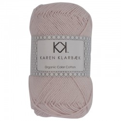 Pastel Rose - KK Color Cotton økologisk bomuldsgarn fra Karen Klarbæk