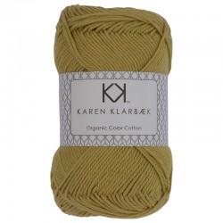 8/4 Faded Yellow - KK Organic Color Cotton økologisk bomuldsgarn fra Karen Klarbæk