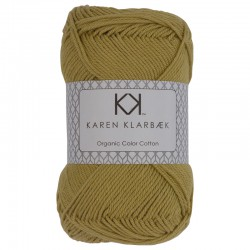 8/4 Faded Yellow - KK Color Cotton økologisk bomuldsgarn fra Karen Klarbæk