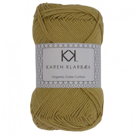 Faded Yellow - KK Color Cotton økologisk bomuldsgarn fra Karen Klarbæk