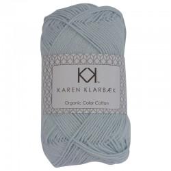 8/4 Baby Blue - KK Organic Color Cotton økologisk bomuldsgarn fra Karen Klarbæk