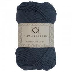 Jeans Blue - KK Color Cotton økologisk bomuldsgarn fra Karen Klarbæk