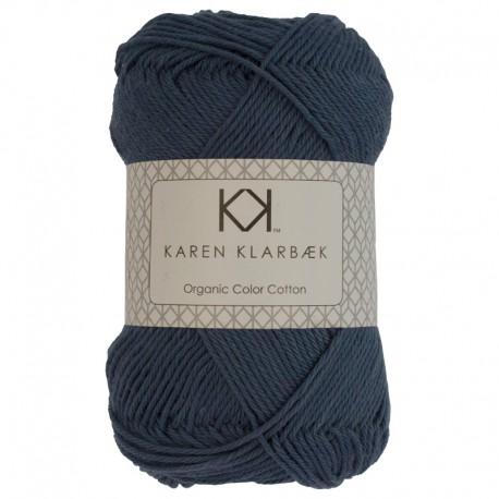 8/4 Jeans Blue - KK Organic Color Cotton økologisk bomuldsgarn fra Karen Klarbæk