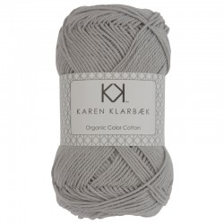 Light Cool Grey - KK Color Cotton økologisk bomuldsgarn fra Karen Klarbæk