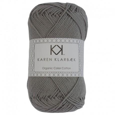 8/4 Cool Grey - KK Organic Color Cotton økologisk bomuldsgarn fra Karen Klarbæk