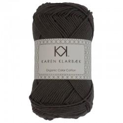8/4 Charcoal - KK Organic Color Cotton økologisk bomuldsgarn fra Karen Klarbæk