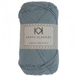8/4 Pastel Blue - KK Organic Color Cotton økologisk bomuldsgarn fra Karen Klarbæk