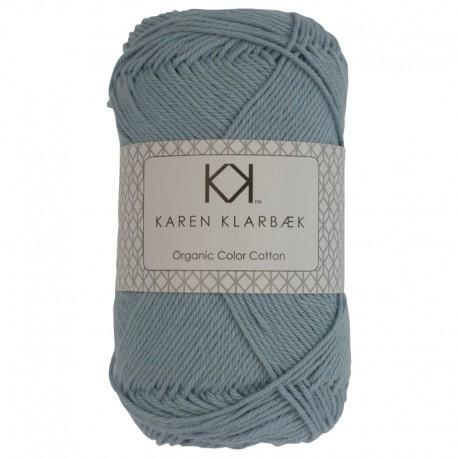 Pastel Blue - KK Color Cotton økologisk bomuldsgarn fra Karen Klarbæk