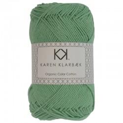Jade grøn - KK Color Cotton økologisk bomuldsgarn fra Karen Klarbæk