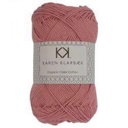 8/4 Old Rose - KK Organic Color Cotton økologisk bomuldsgarn fra Karen Klarbæk