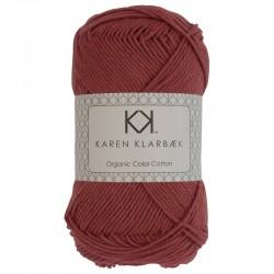 Brick Red - KK Color Cotton økologisk bomuldsgarn fra Karen Klarbæk