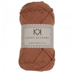 8/4 Light Nutbrown - KK Organic Color Cotton økologisk bomuldsgarn fra Karen Klarbæk