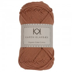 Lys nøddebrun - KK Color Cotton økologisk bomuldsgarn fra Karen Klarbæk