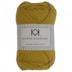 8/4 Curry - KK Organic Color Cotton økologisk bomuldsgarn fra Karen Klarbæk