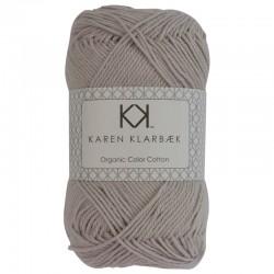 Light Sand - KK Color Cotton økologisk bomuldsgarn fra Karen Klarbæk