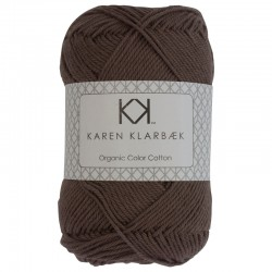 8/4 Dark Sand - KK Organic Color Cotton økologisk bomuldsgarn fra Karen Klarbæk