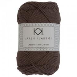 8/4 Dark Sand - KK Color Cotton økologisk bomuldsgarn fra Karen Klarbæk